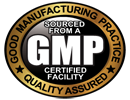 GMP - Good Manufacturing Practice Seal